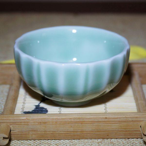 Handmade Longquan Green Porcelain Tea Cup