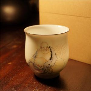 Handmade Luohan Monk Tea Cupa